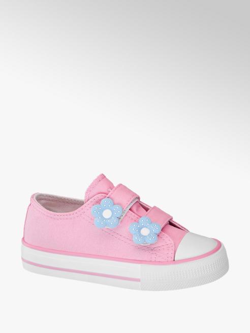 Vty Sneaker rosa in tessuto