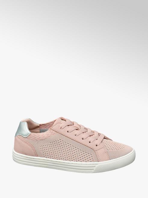 Graceland Sneaker rosa in tessuto