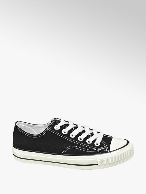 Vty Sneaker stringata nera