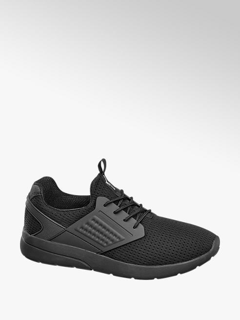 Memphis One Sneaker total black in mesh