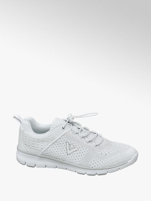 Venice Sneaker total white in tessuto
