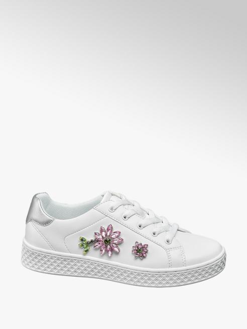 Graceland Sneaker virág dísszel