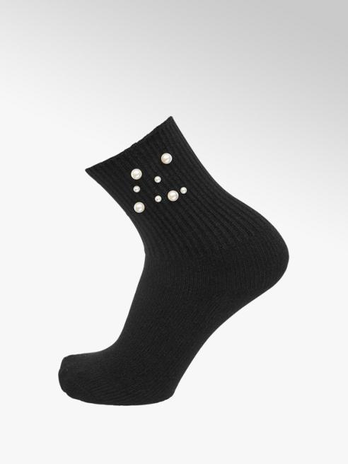 Socken mit Perlen