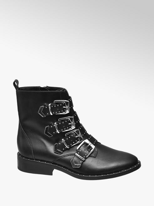 895250f1db400 Buckle Detail Boot by Star Collection