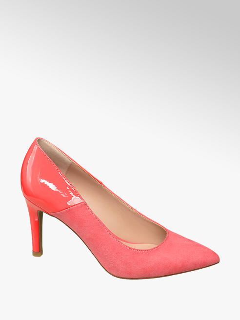 Star Collection Pumps in Pink mit Lack Detail