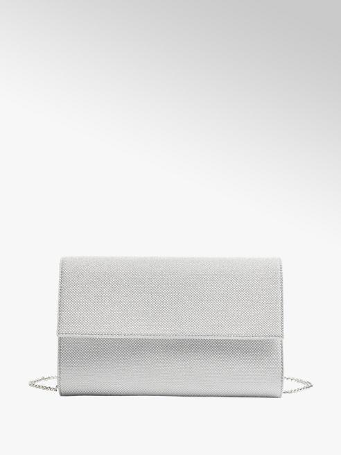 Graceland Stříbrná třpytivá kabelka Graceland
