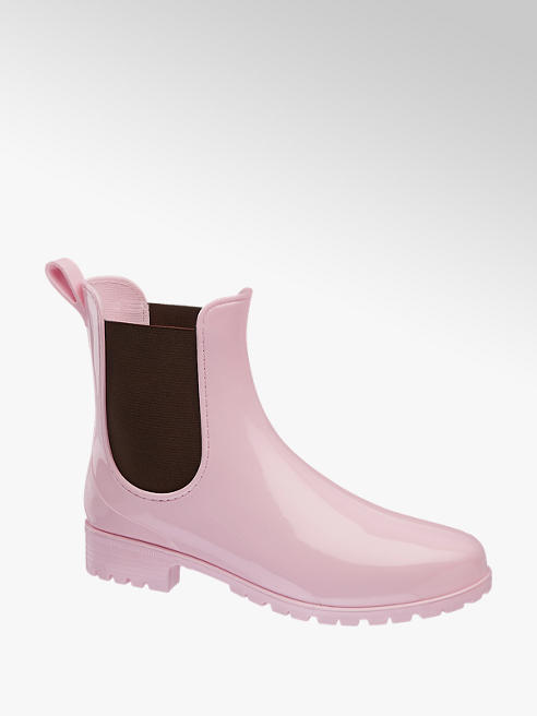 Graceland Stivaletto da pioggia in gomma rosa