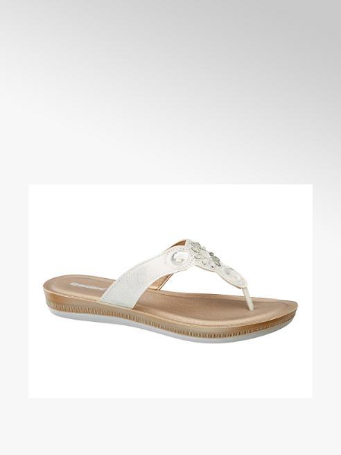 Graceland Strasszos lábujjközi papucs