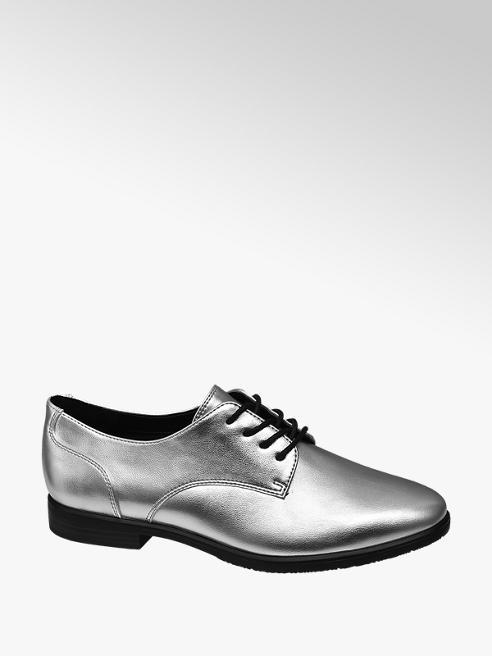 Graceland Stringata derby argento