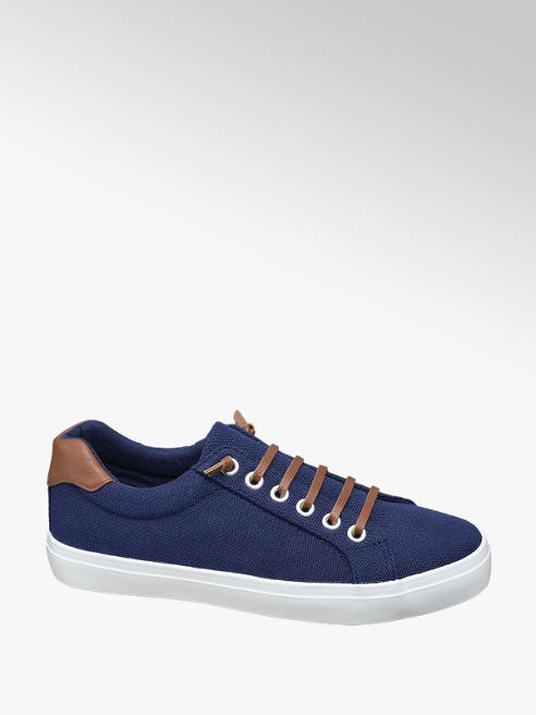 Graceland Sötétkék vászon sneaker