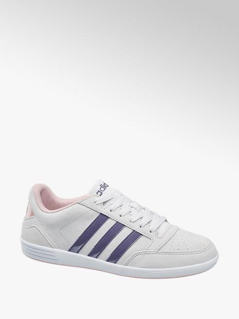 adidas Světle šedé tenisky Adidas Vl Hoops