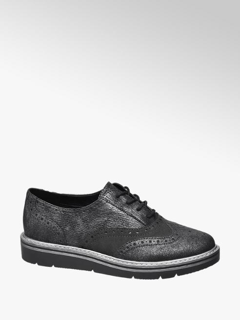 Graceland Szürke dandy cipő