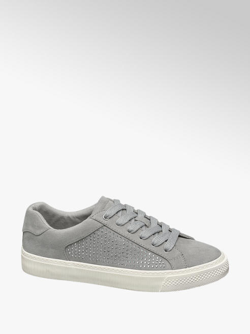 Graceland Szürke strasszos sneaker