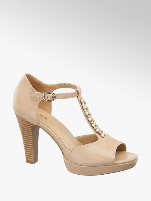 Graceland T-pántos peep toe