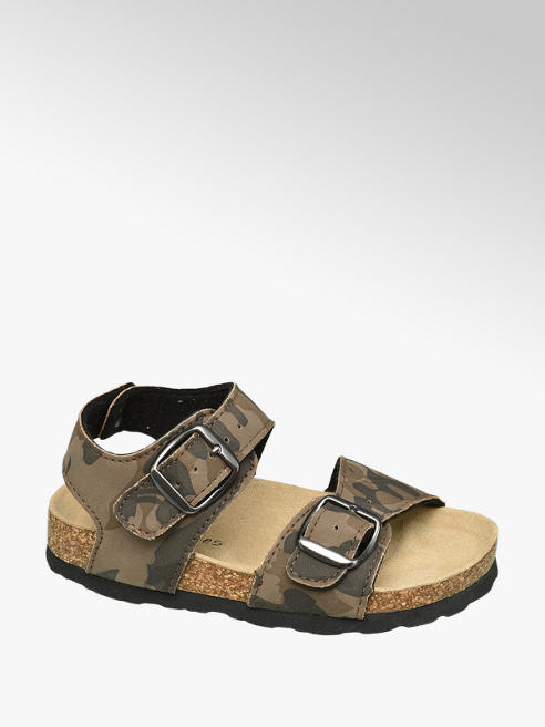 Bobbi-Shoes Terepmintás fiú szandál