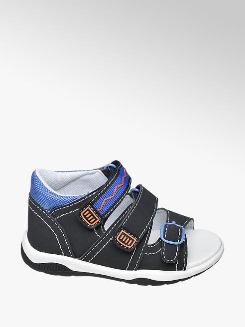 Bobbi-Shoes Tmavě modré dětské sandály Bobbi Shoes na suchý zip