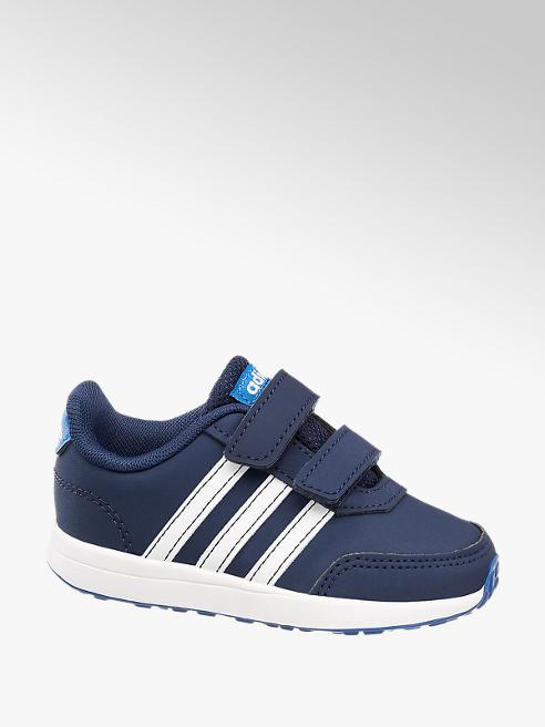 adidas Tmavě modré dětské tenisky na suchý zip Adidas Vs Switch 2