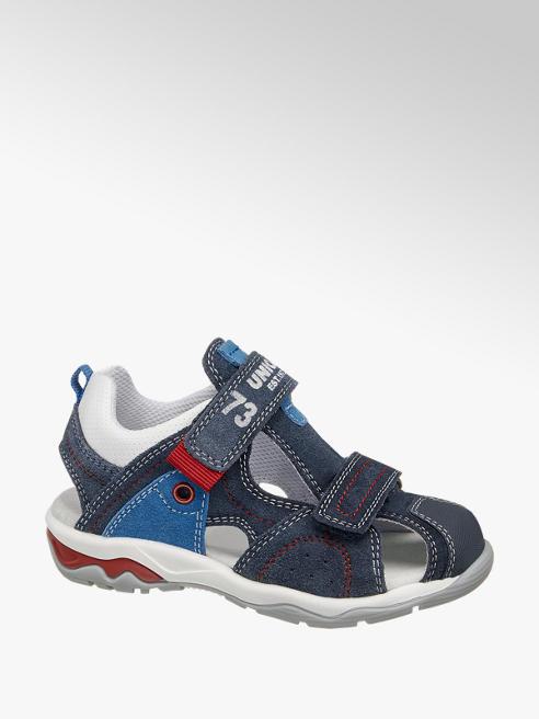 Bobbi-Shoes Tmavě modré kožené sandálky Bobbi Shoes