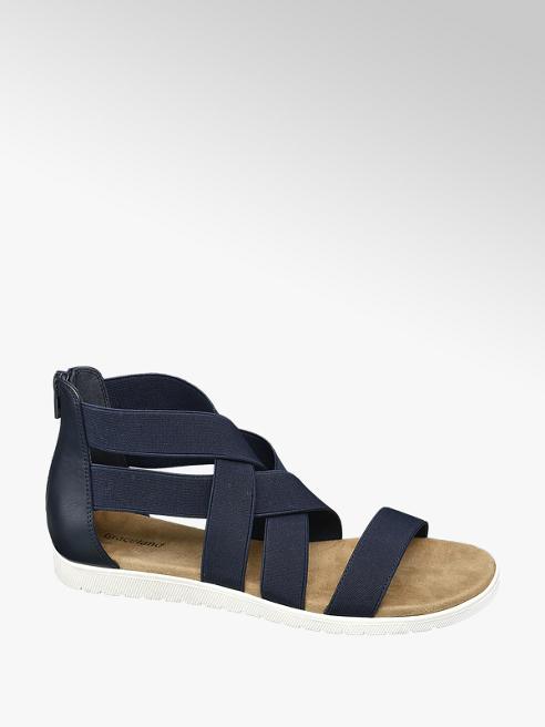 Graceland Tmavě modré sandály Graceland