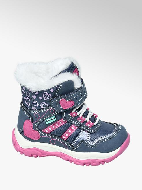 Cortina Tmavomodrá detská zimná obuv s TEX membránou Cortina