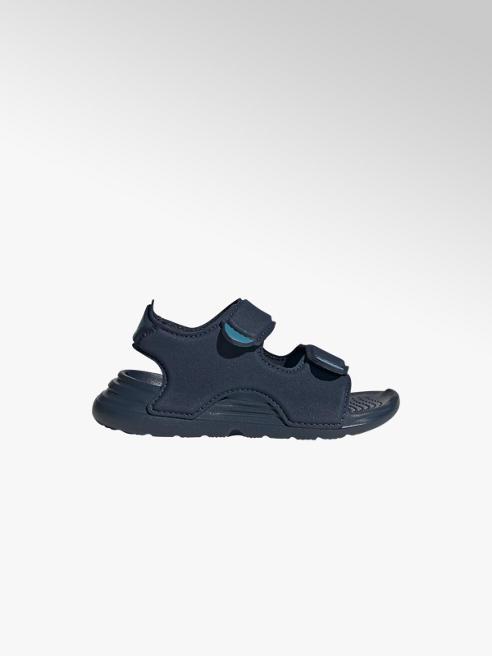 adidas Tmavomodré sandále Adidas Swim I