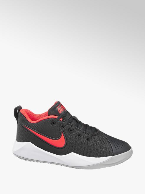 NIKE Tmavosivé tenisky Nike Team Hustle Quick