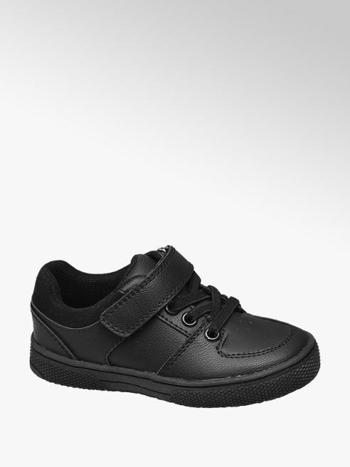 Bobbi-Shoes Toddler Boy Black Single Strap Sporty School Shoes