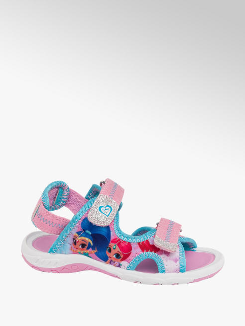 Toddler Girl 'Shimmer & Shine' Sporty Sandals