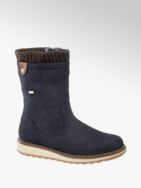 Tom Tailor Boots in Blau
