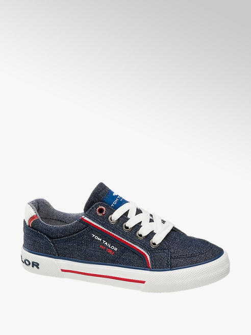 Tom Tailor Sneaker in Blau
