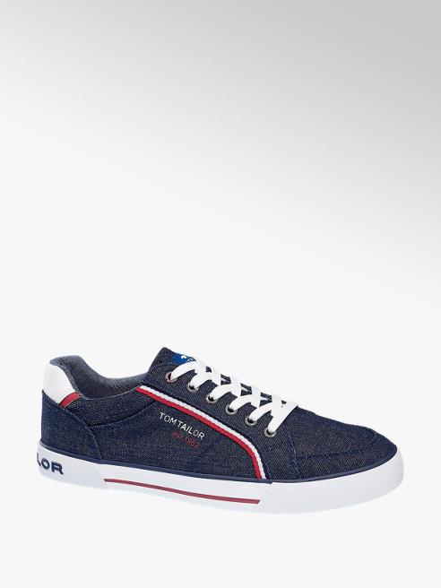 Tom Tailor Sneaker in Blau mit Jeans-Look