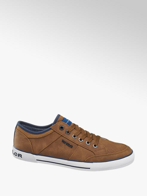 Tom Tailor Sneaker in Braun
