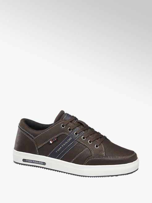 Tom Tailor Sneaker in Braun