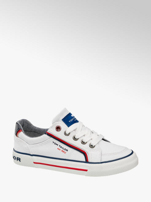 Tom Tailor Sneaker in Weiß