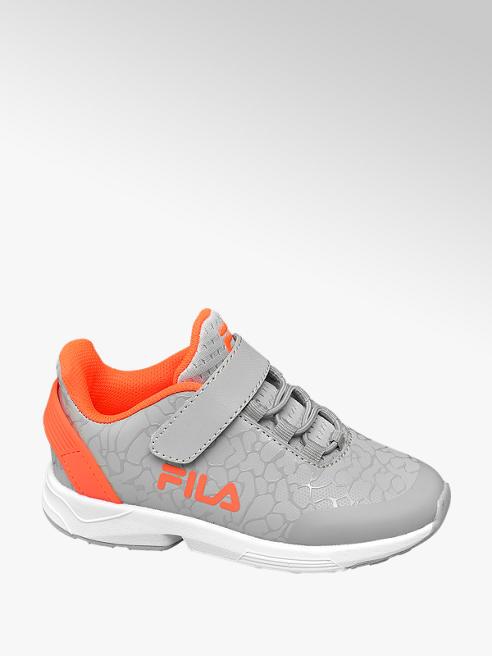 Fila Tépőzáras szürke fiú sneaker