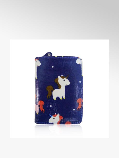 Unicorn Oil Cloth Purse (Small)