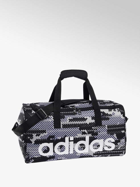 adidas Adidas LINPERTBSGR - Gri Siyah Beyaz Spor Çantası