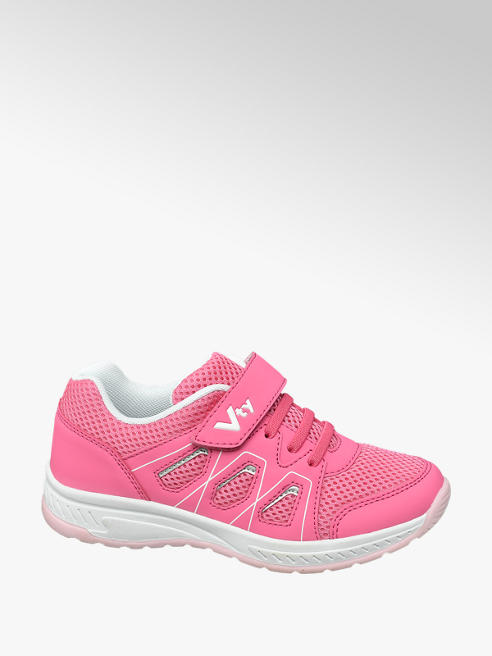 Vty Pink Velcro VTY Trainers