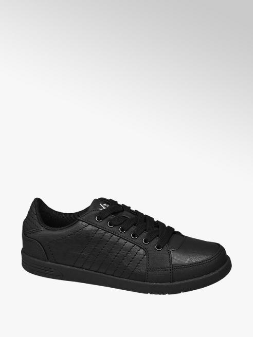 Vty Ladies VTY Black Lace-up Trainers