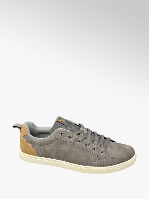 Vty Mens VTY Grey Casual Lace-up Trainers