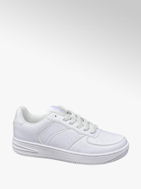 Vty Mens VTY White Lace-up Trainers