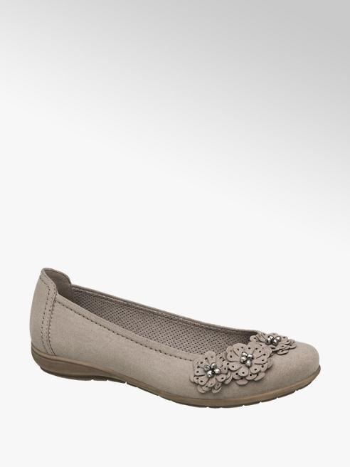 Graceland Vakondszürke balerina