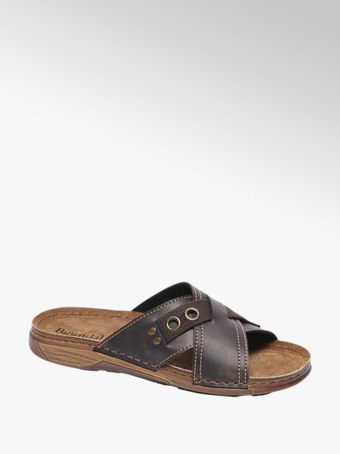 Venice Bruine slipper