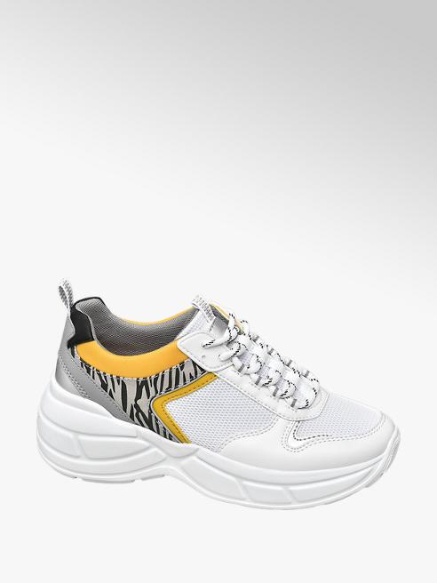Venice Chunky Sneakers in Weiß
