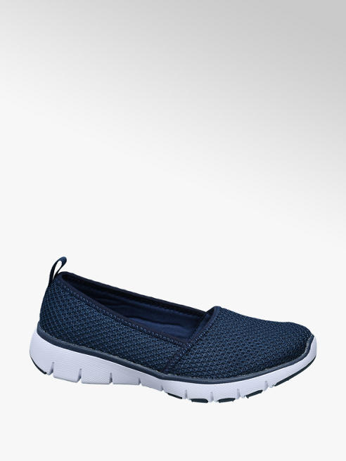 Venice Navy Lightweight Trainers