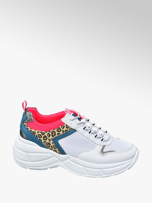 Venice Ladies Chunky Lace Up Trainers