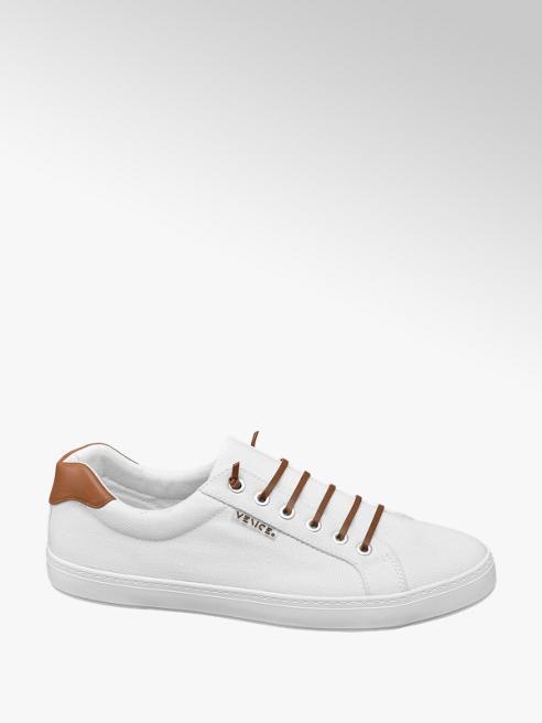 Venice Leinen Sneaker in Weiß