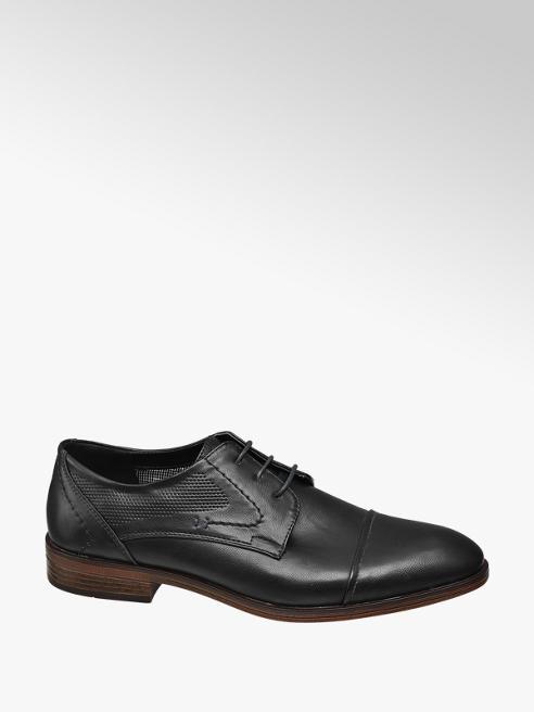 Venice Mens Black Formal Lace-up Shoe