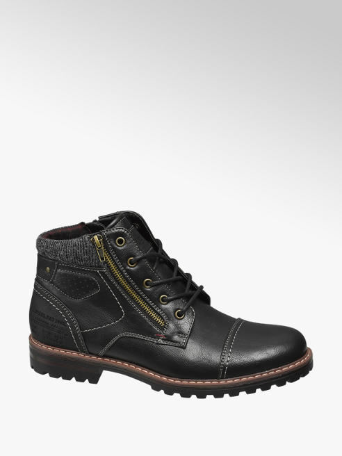 Venice Mens Casual Lace-up Boots