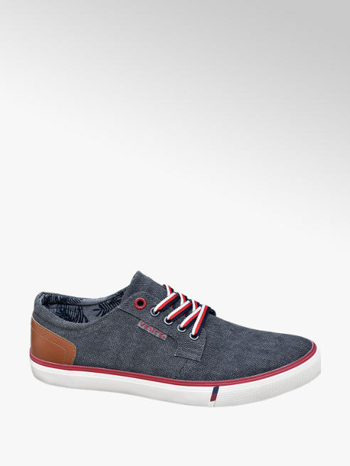 Venice Mens Navy Casual Lace-up Shoes